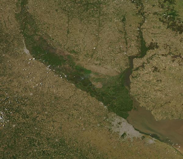 Uruguay and Parana Rivers