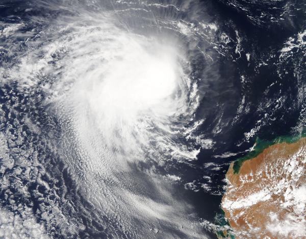 Tropical Cyclone Claudia