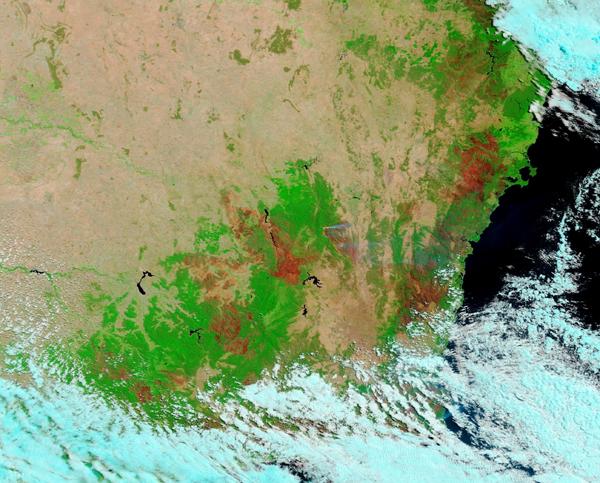 Burn Scars in Australia