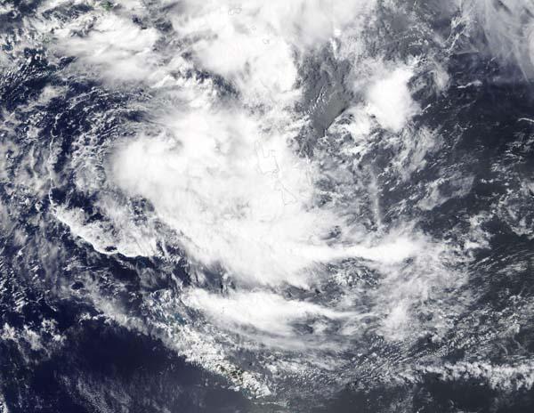 Tropical Cyclone Uesi off Vanuatu