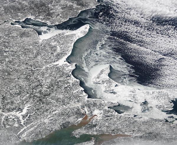 Sea Ice off New Brunswick