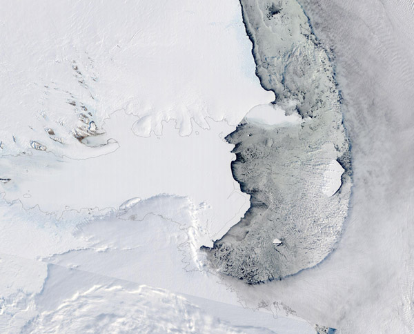 Iceberg D28, Antarctica