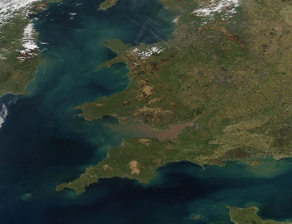 Sediment in Bristol Channel and the Irish Sea
