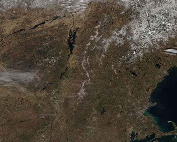 Spring Thaw in Adirondack State Park and New England