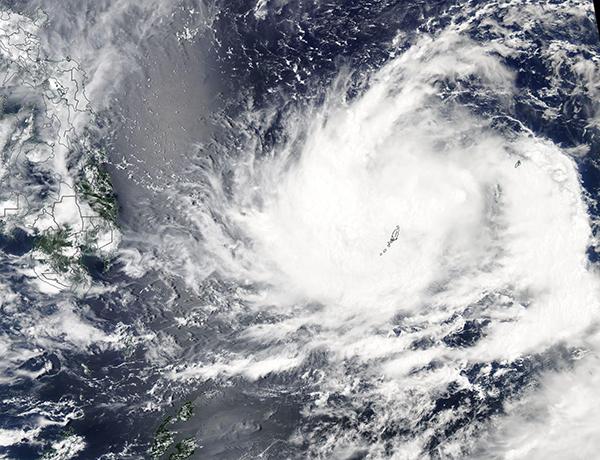 Tropical Storm Surigae