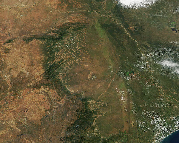 South Africa, Mozambique, Limpopo River, Kruger National Park