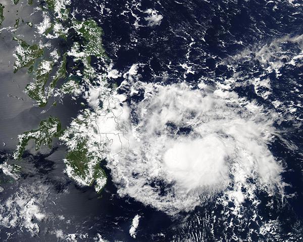 Tropical Cyclone 03W