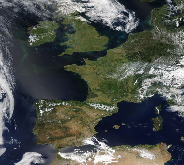 Clear Skies over Europe