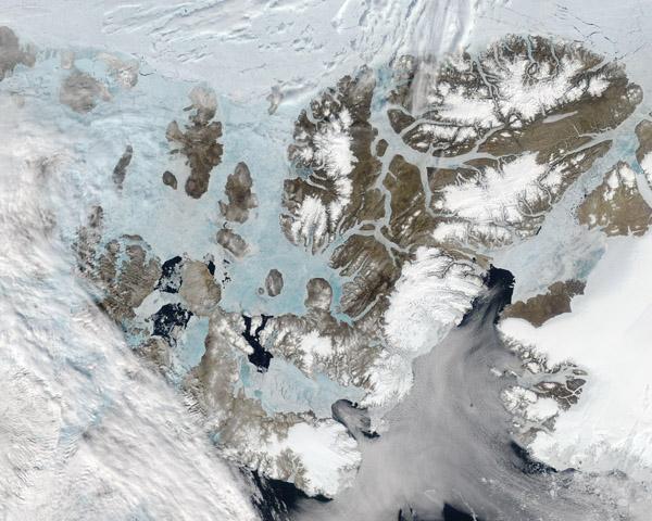 Ellesmere Island, Axel Heiberg Island