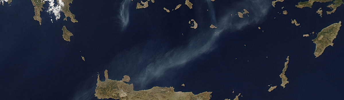 Fires in the Aegean Sea (afternoon overpass)