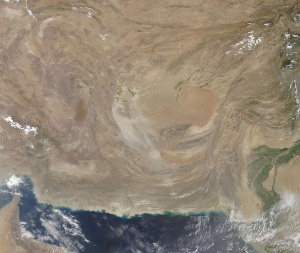 Middle Eastern Dust Storm