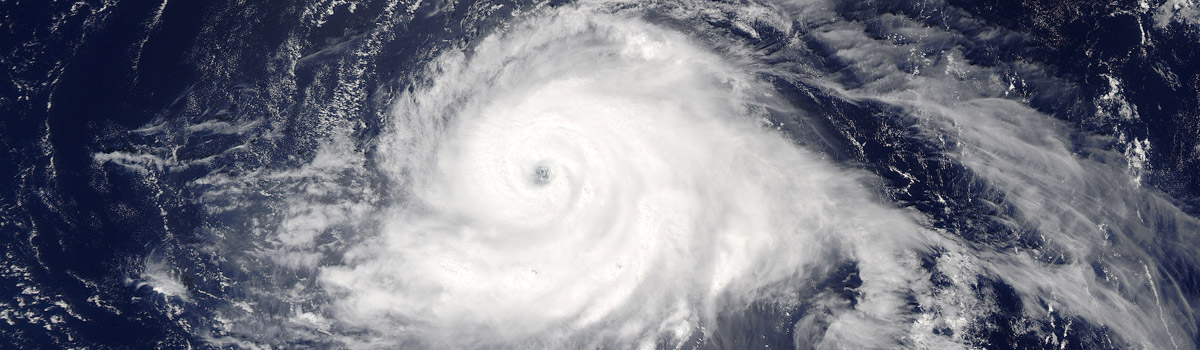 Hurricane Gaston (07L) in the central Atlantic Ocean
