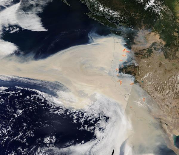 West Coast Fires