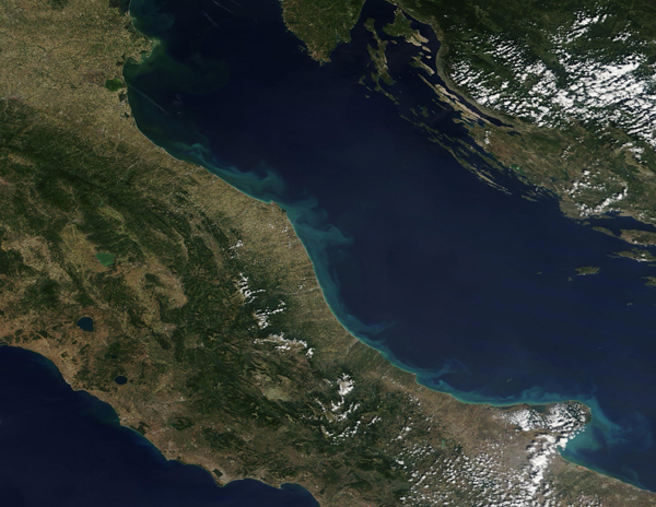 Italy and the Adriatic Sea