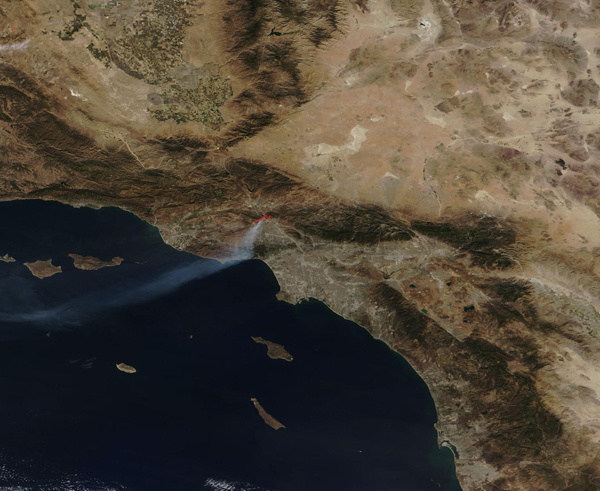 Wildfires in Los Angeles County, California