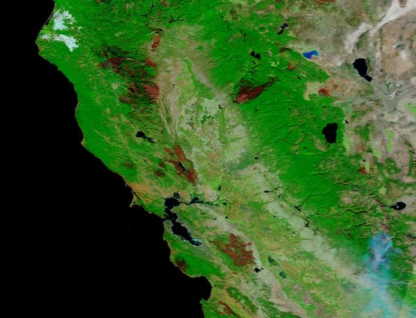 California Burn Scars