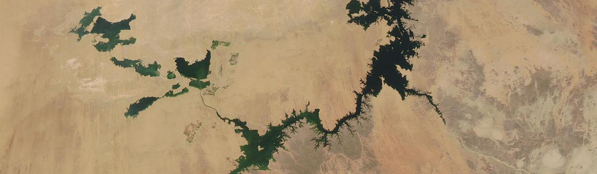 Lake Nasser (Lake Nubia) and the Toska Lakes